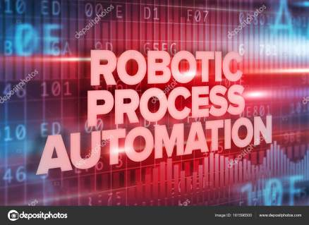 Robotic Process Automation Text Over Interface Screen
